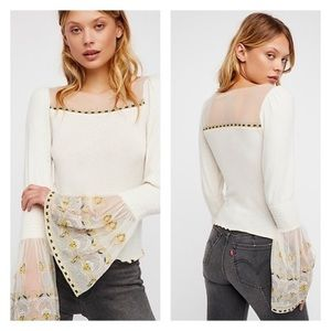 NWT Free People High Tides Top